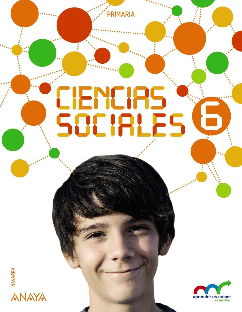Ciencias Sociales 6º Educacion Primaria Navarra - Vv.aa.