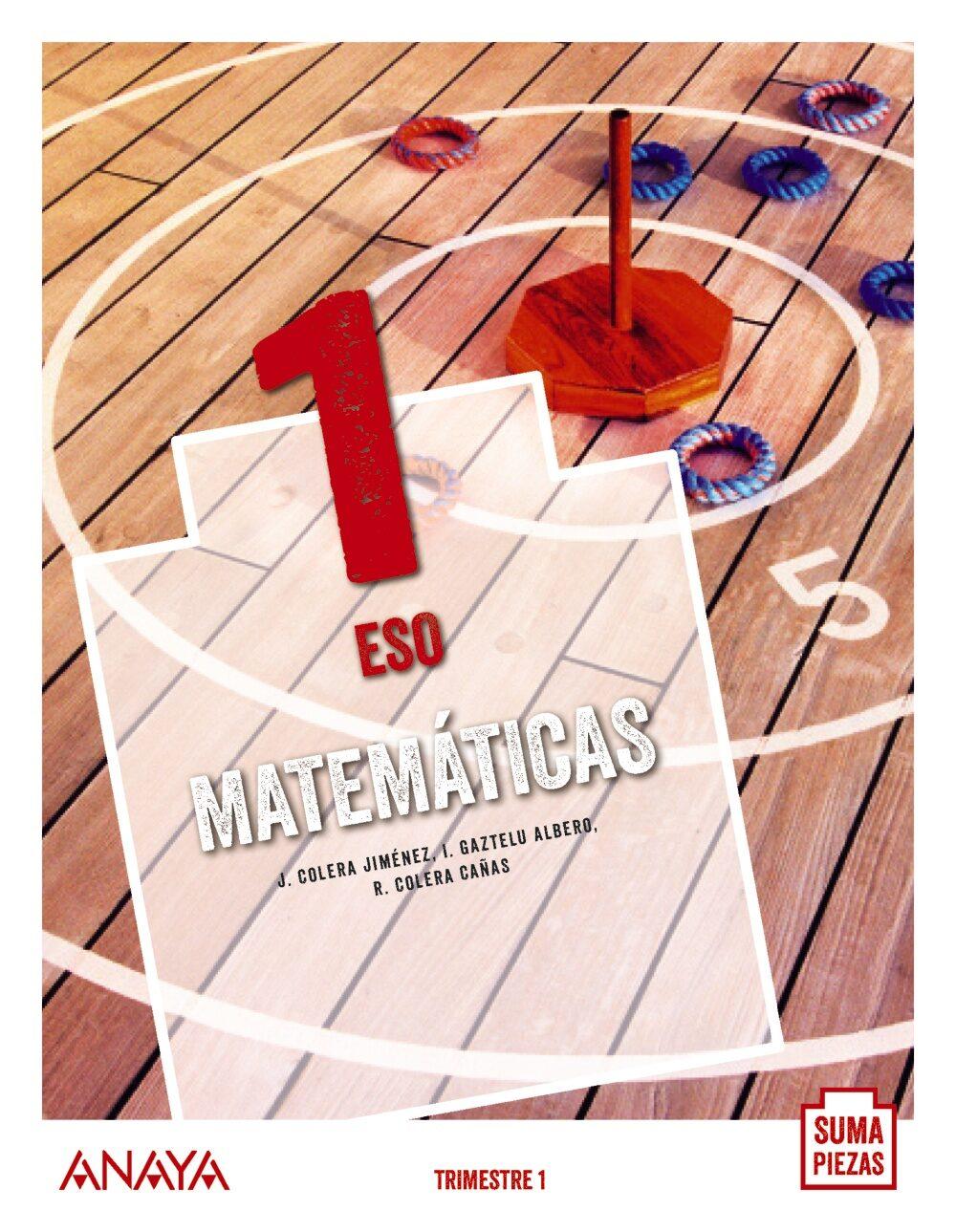 Matemáticas 1º Eso. Suma Piezas Asturias / Canarias / Cantabria / Cast - Vv.aa.