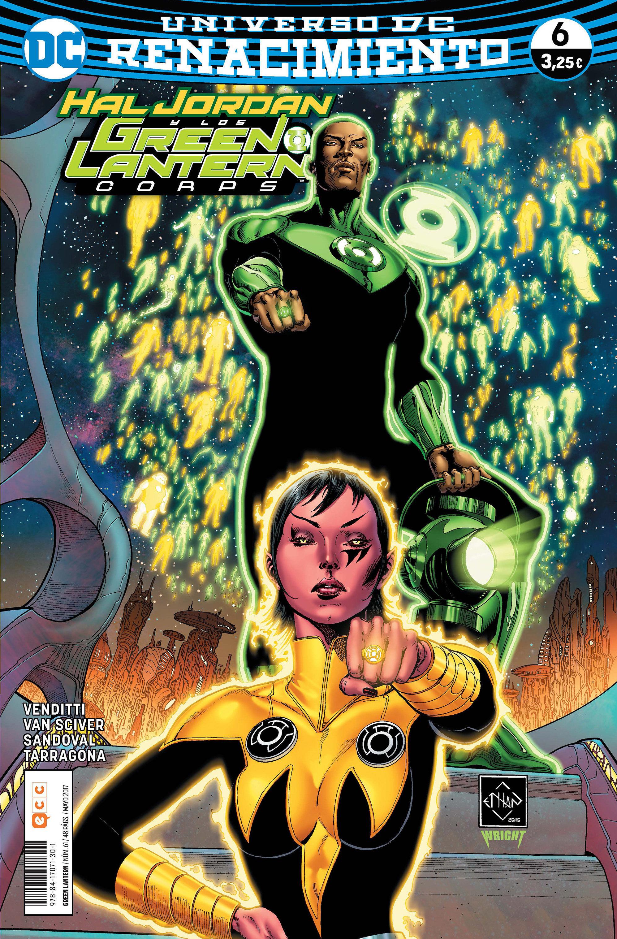 Green Lantern Nº 61 / 6 (renacimiento) - Venditti Robert