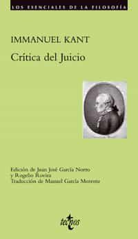 Critica Del Juicio - Kant Immanuel