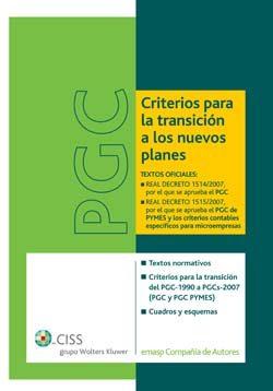 Pgc Criterios Para Transicion A Los Nuevos Planes - Vv.aa.