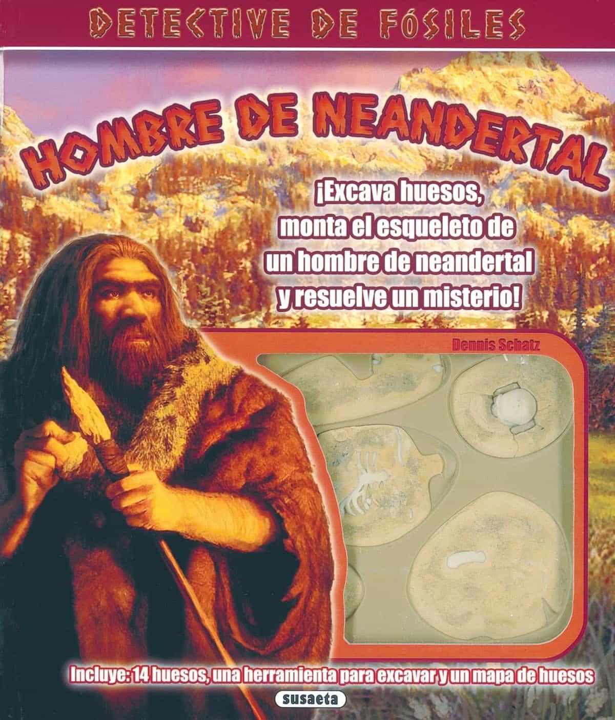 Hombre De Neandertal: Detective De Fosiles - Vv.aa.