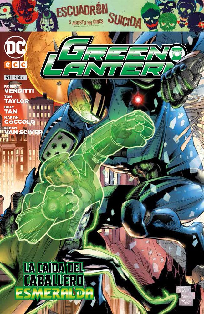 Green Lantern Nº 51 - Venditti Robert