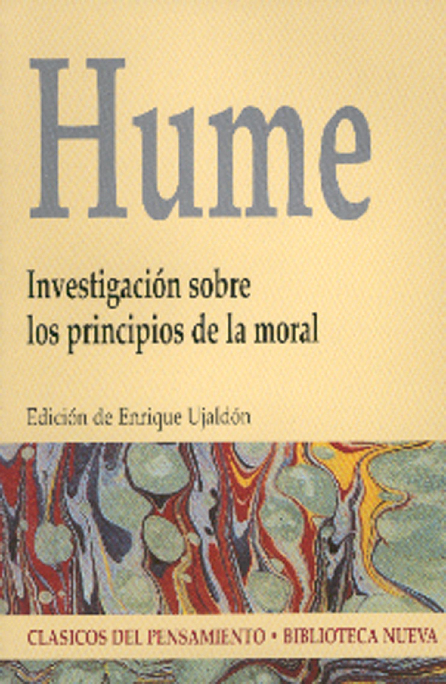 Investigacion Sobre Los Principios De La Moral - Hume David