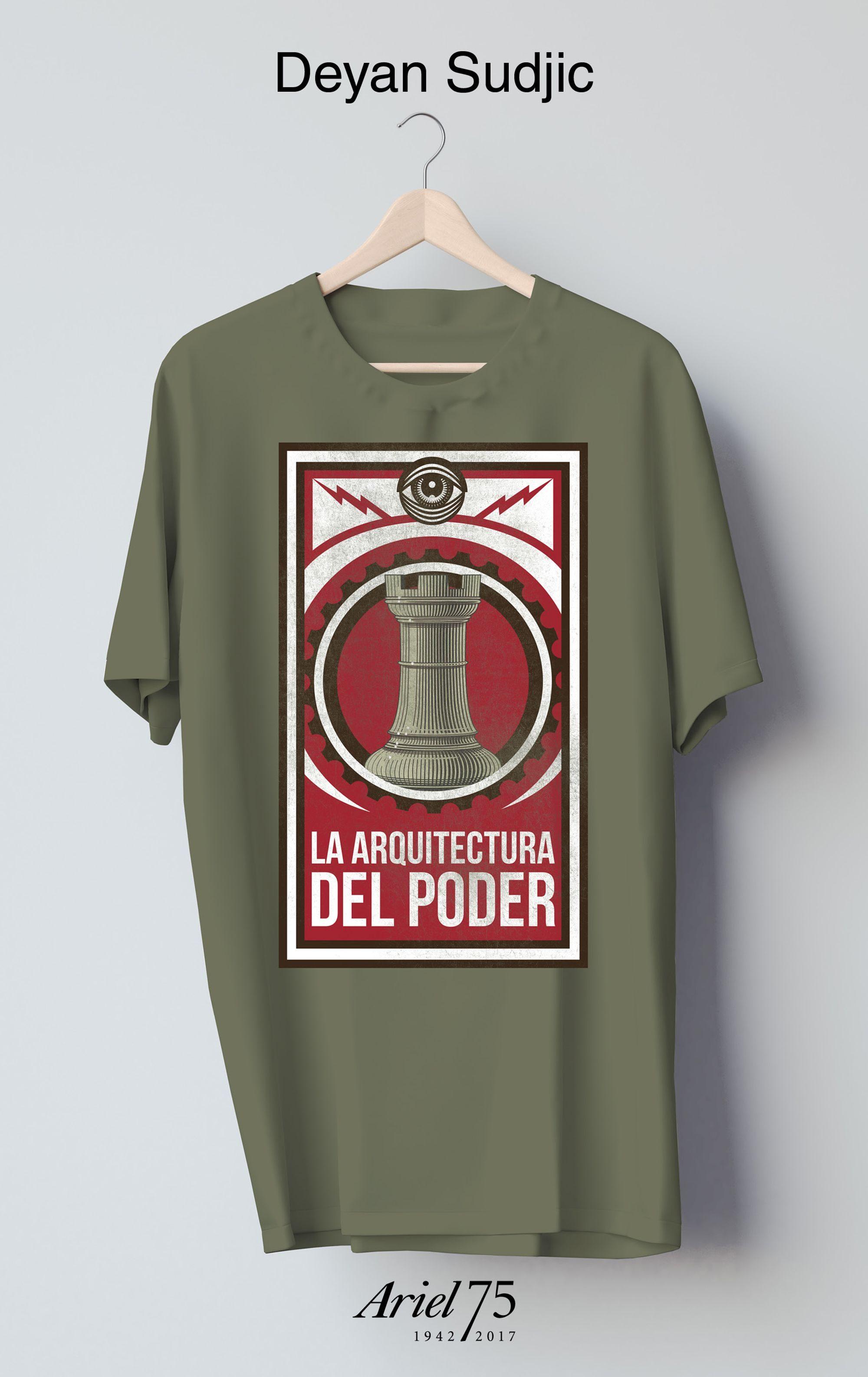 La Arquitectura Del Poder (estuche + Camiseta) - Sudjic Deyan