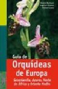 Guia De Orquideas De Europa - Baumann Helmut