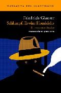 Schlumpf Erwin: Homicidio (el Inspector Studer) - Glauser Friedrich