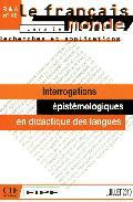 Interrogations Epistemologique - D.macaire