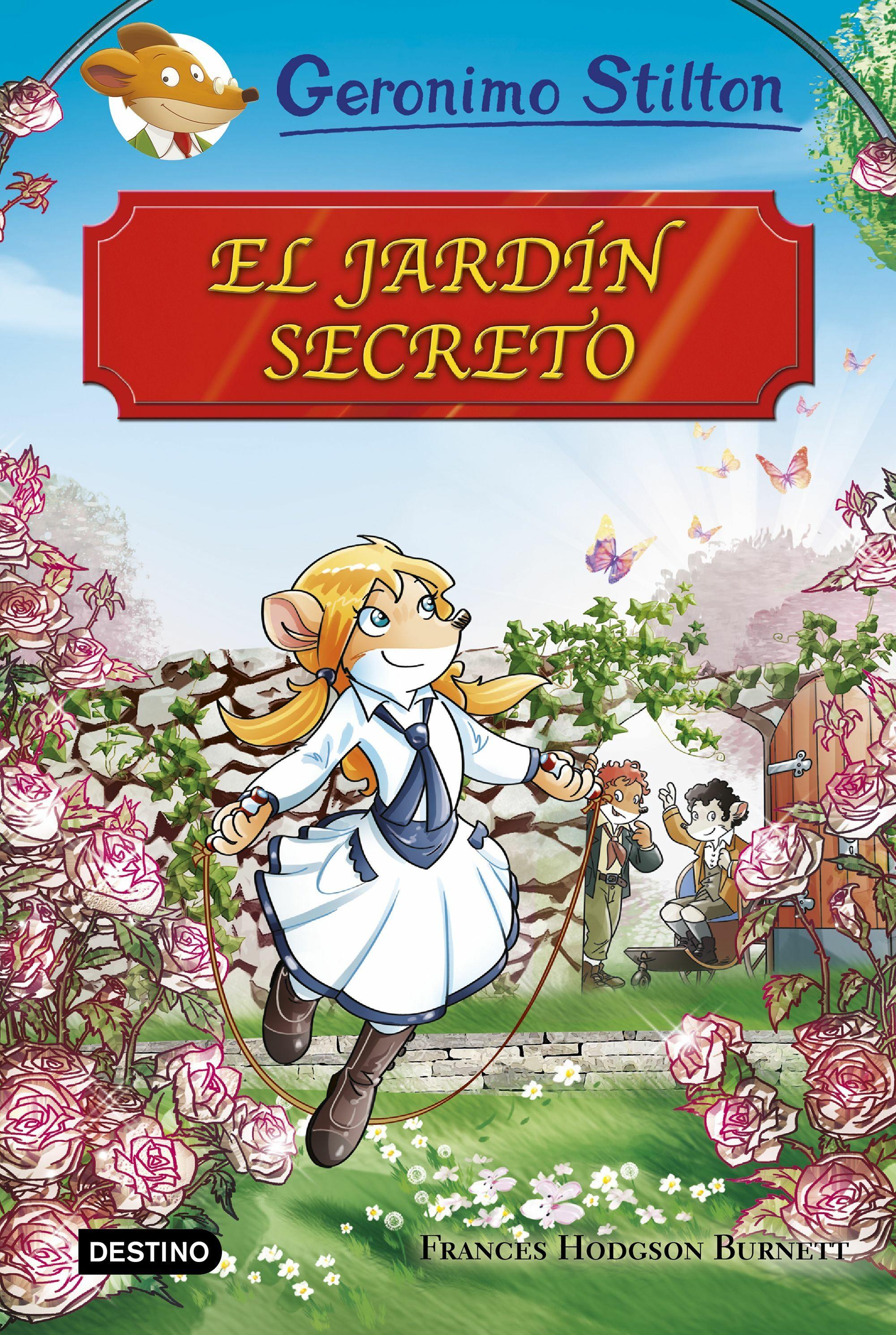 Grandes Historias El Jardin Secreto Geronimo Stilton Comprar
