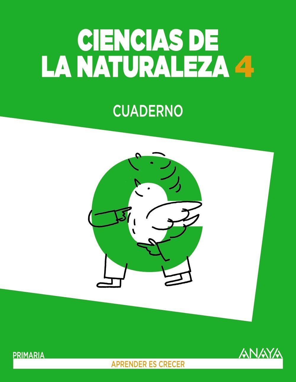 Ciencias De La Naturaleza 4º Educacion Primaria Cuaderno. - Vv.aa.