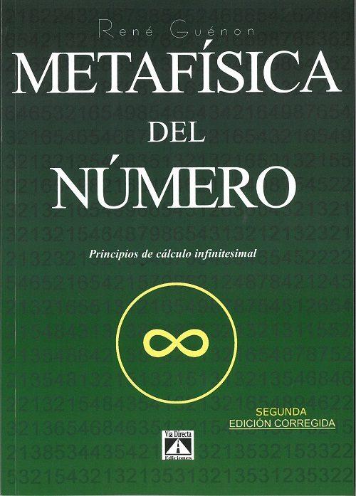 Metafisica Del Numero: Principios De Calculo Infinitesimal - Guenon Rene