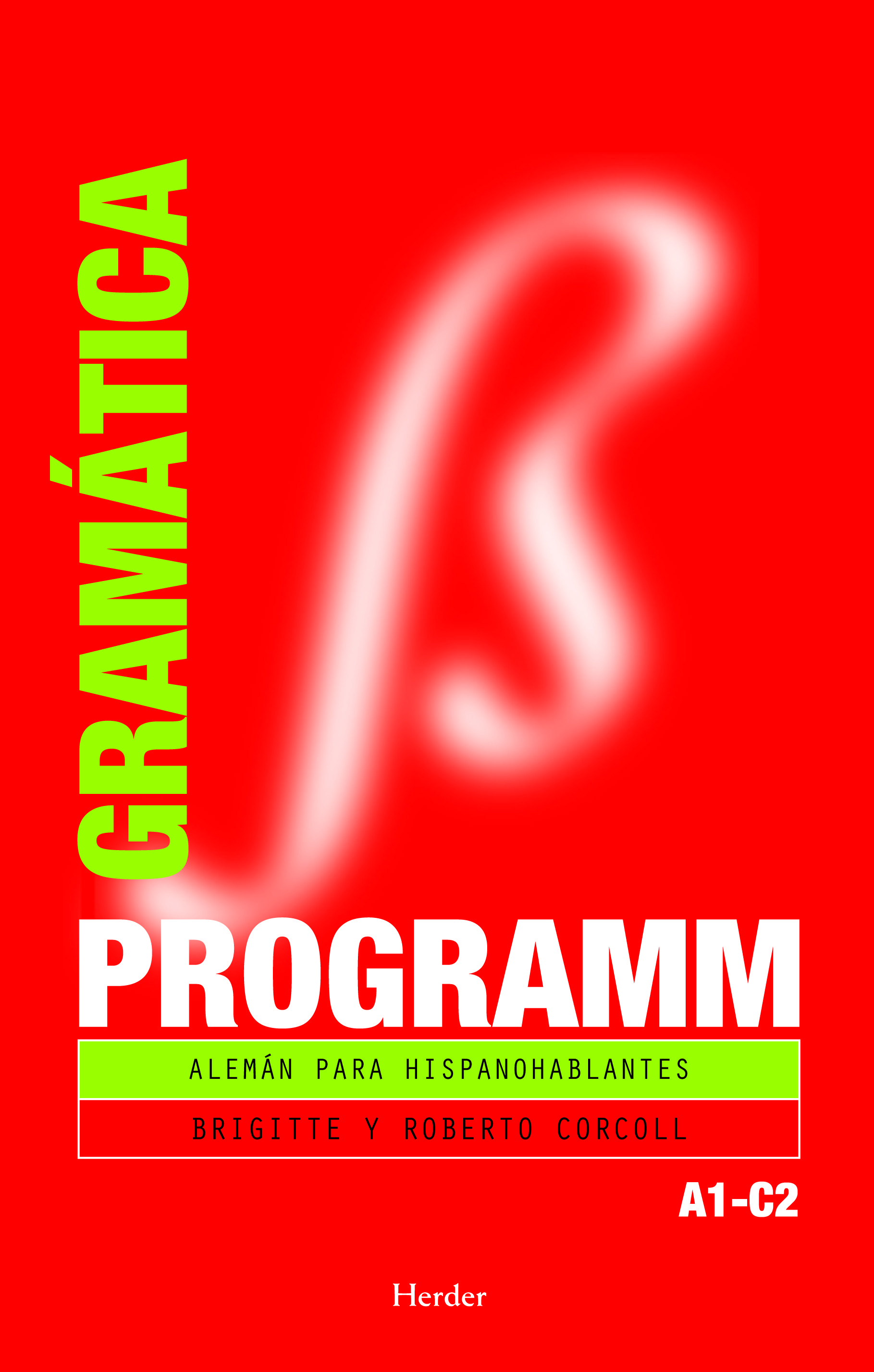 Programm Gramatica: Aleman Para Hispanoablantes - Corcoll Brigitte