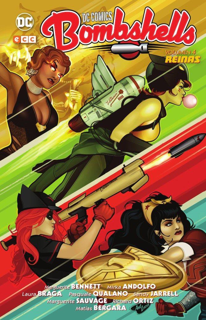 Dc Comics Bombshells Vol. 04: Reinas - Bennett Marguerite