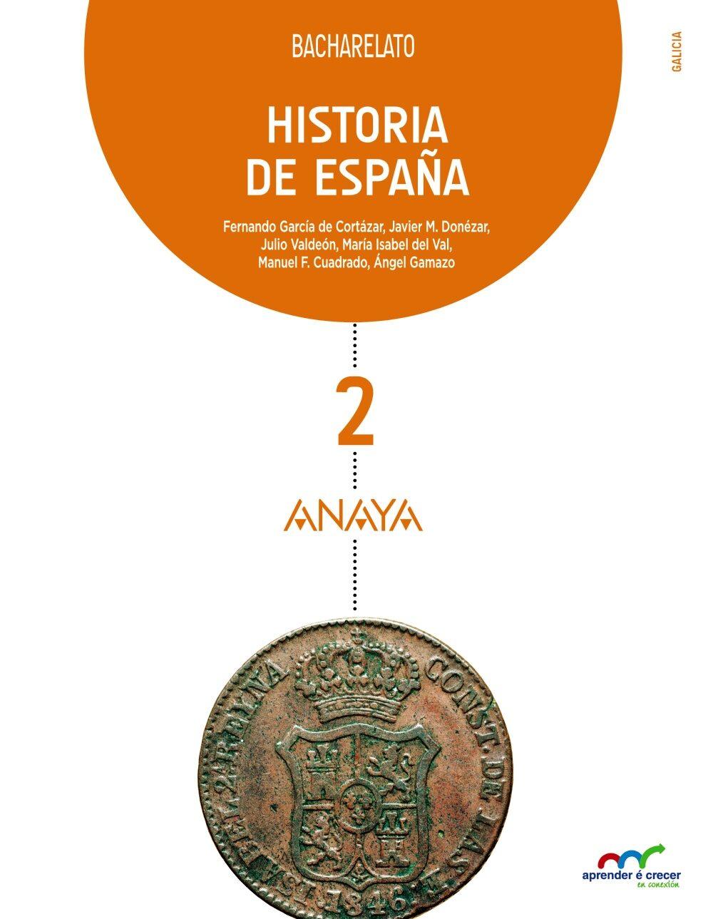 Historia De España 2º Bachillerato - Vv.aa.