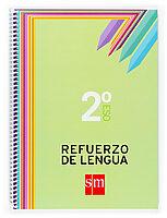 Cuaderno Refuerzo De Lengua 2º Eso - Vv.aa.
