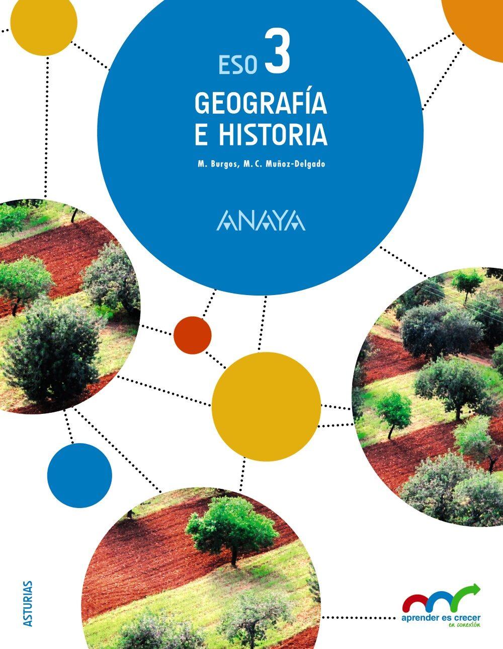 Geografía E Historia 3º Eso Asturias - Vv.aa.