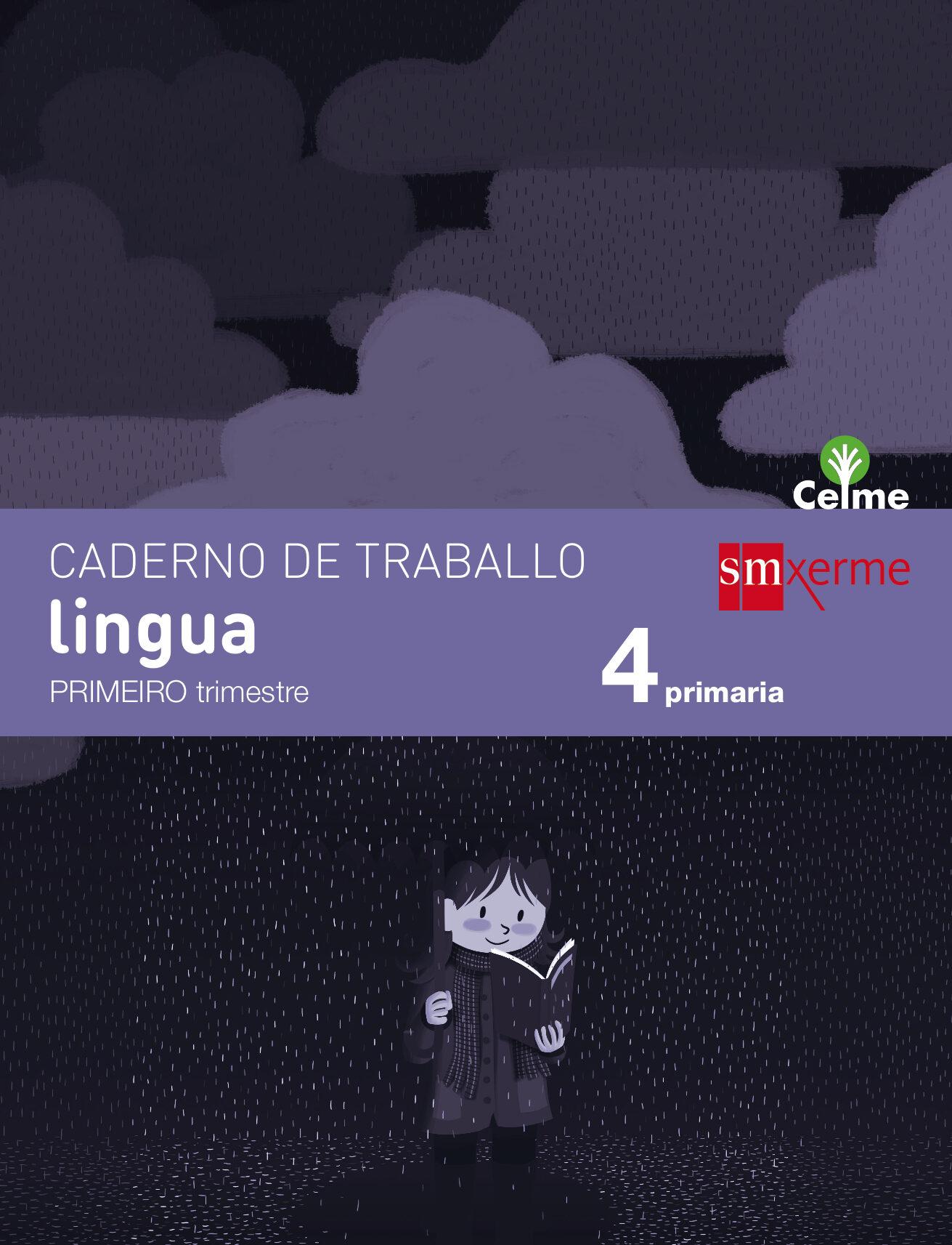 Lingua 4º Educacion Primaria Caderno Primer Trimestre Celme 2015 - Vv.aa.
