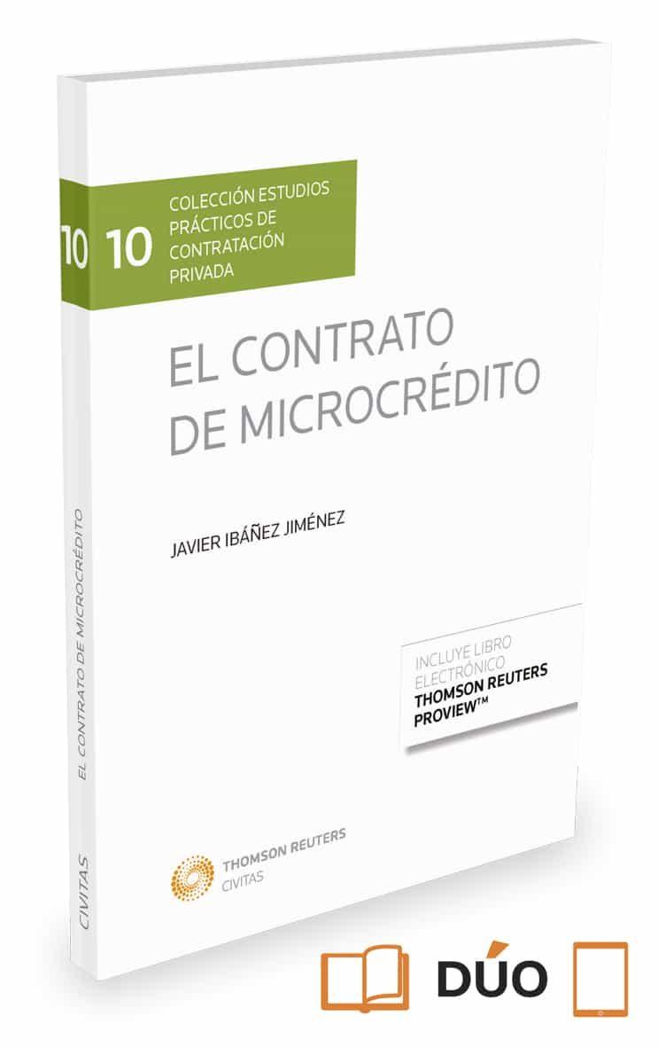 El Contrato De Microcrédito - Ibañez Jimenez Javier Wenceslao