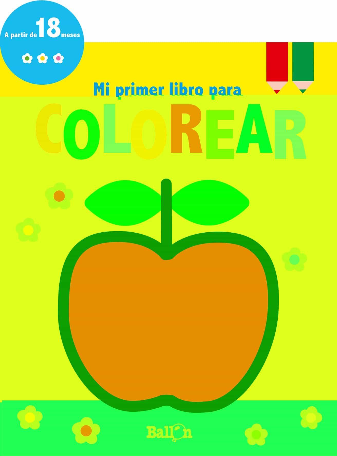 Manzana (mi Primer Libro Para Colorear) - Vv.aa.