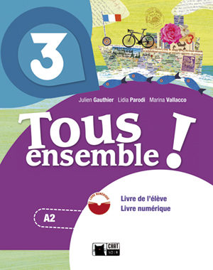 Tous Ensemble ! 3. Andalucía. Livre De L Élève + Dvd-rom 3º Eso - Vv.aa.