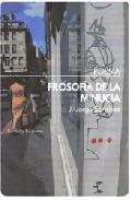Filosofia De La Minucia - Sanchez Jorge