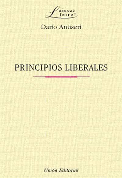 Principios Liberales - Antiseri Dario