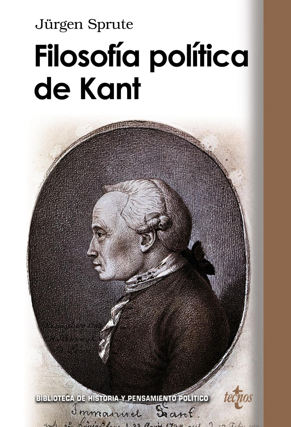 Filosofia Politica De Kant - Sprute Jürgen