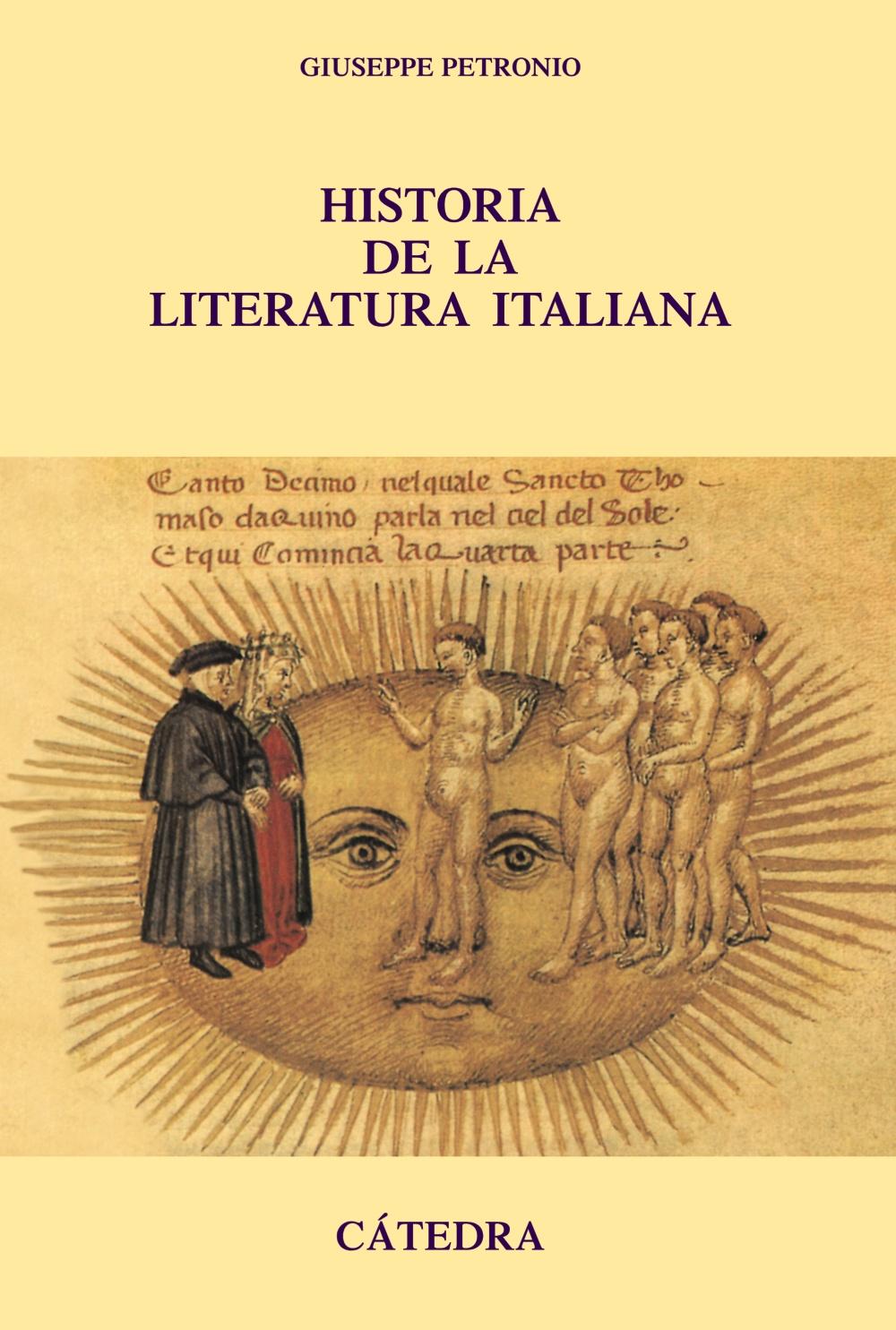 Historia De La Literatura Italiana - Petronio Giuseppe