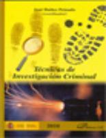 Tecnicas De Investigacion Criminal  - Ibañez Peinado Jose