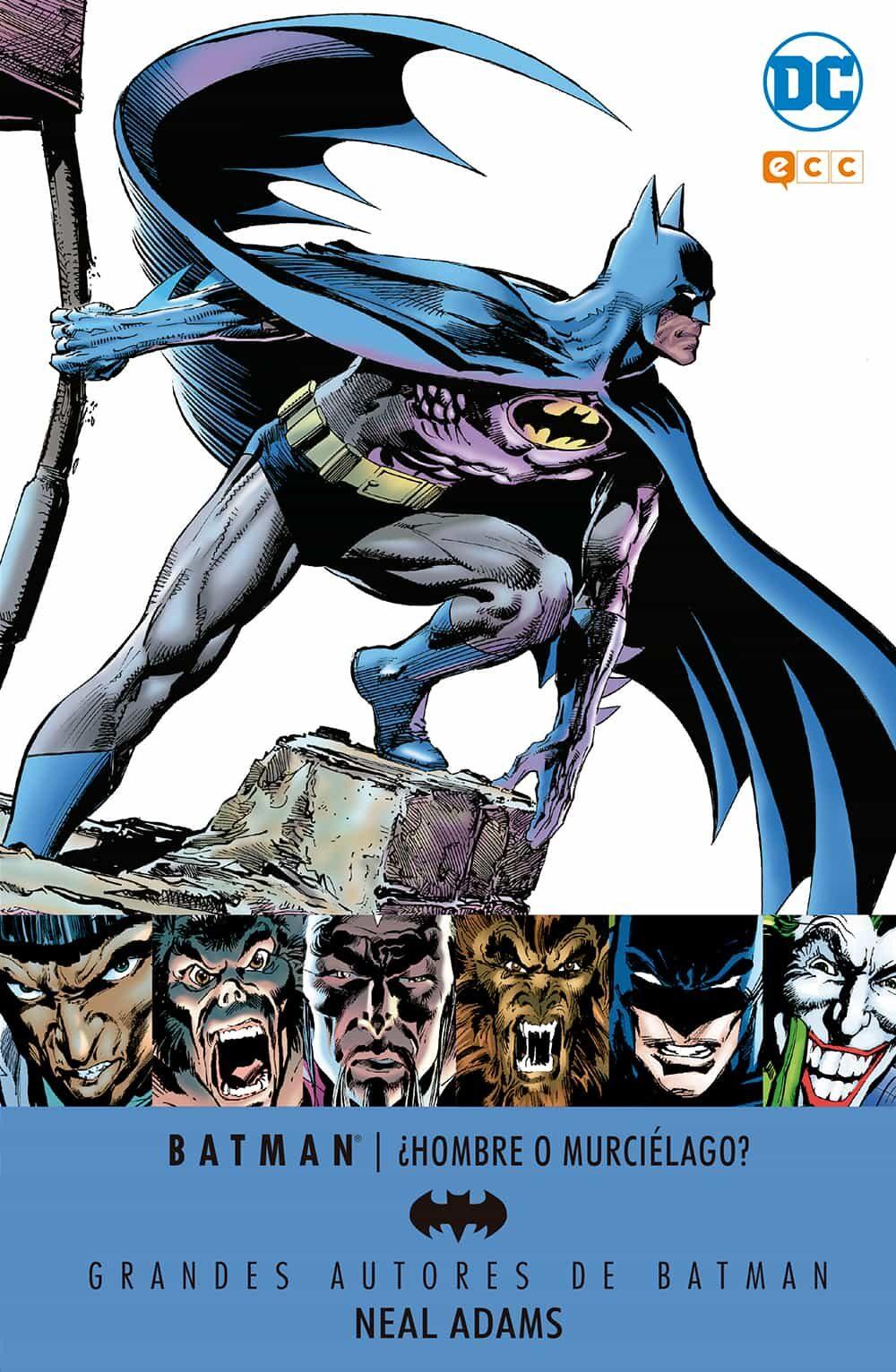 Grandes Autores De Batman: Neal Adams - ¿hombre O Murcielago? - Adams Neal