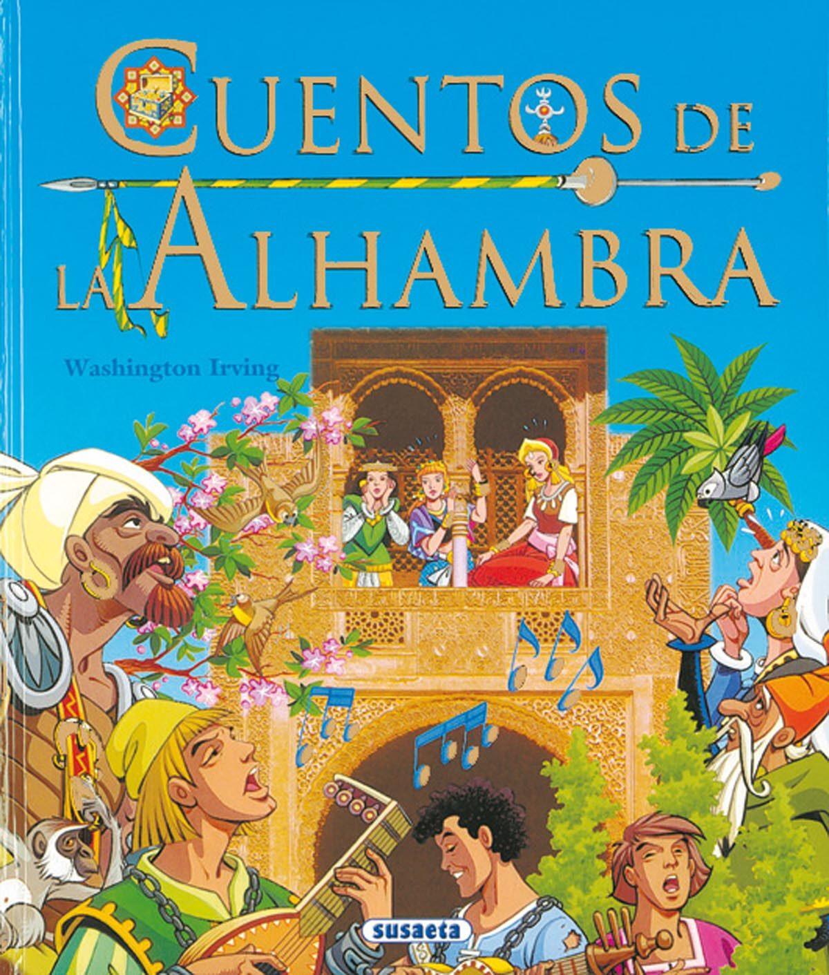 Cuentos De La Alhambra - Vv.aa.