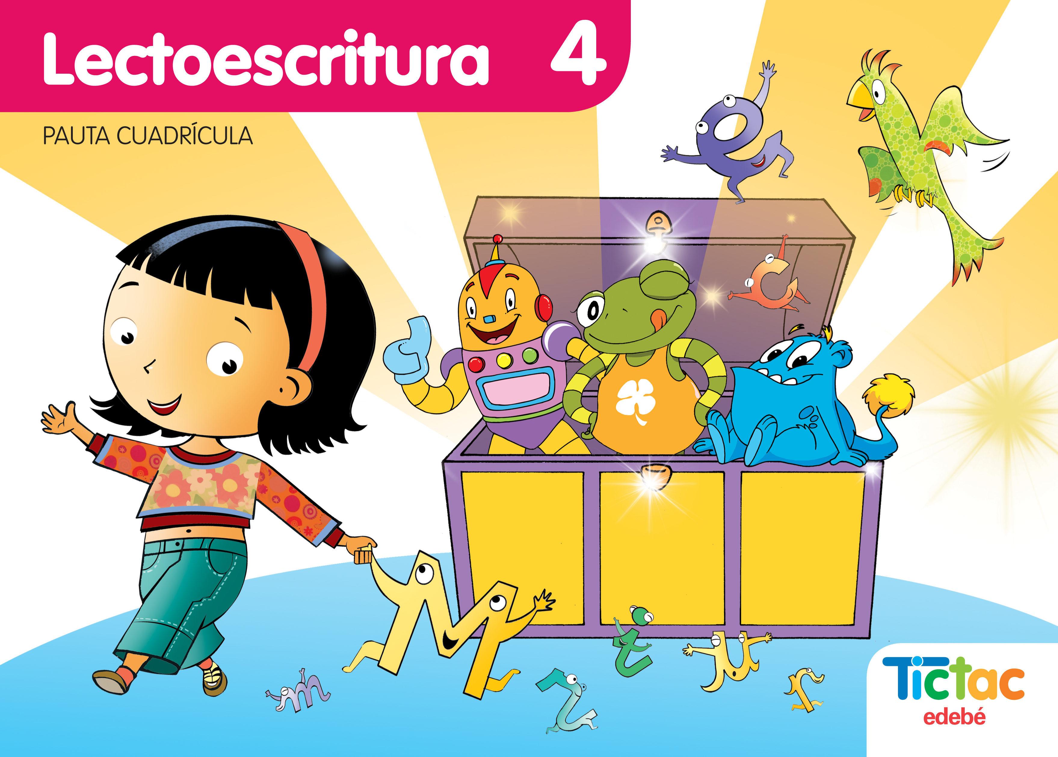 Cuaderno Lectoescritura 4 Infantil Cuadricula (cas) Cuaderno Complemen - Vv.aa.