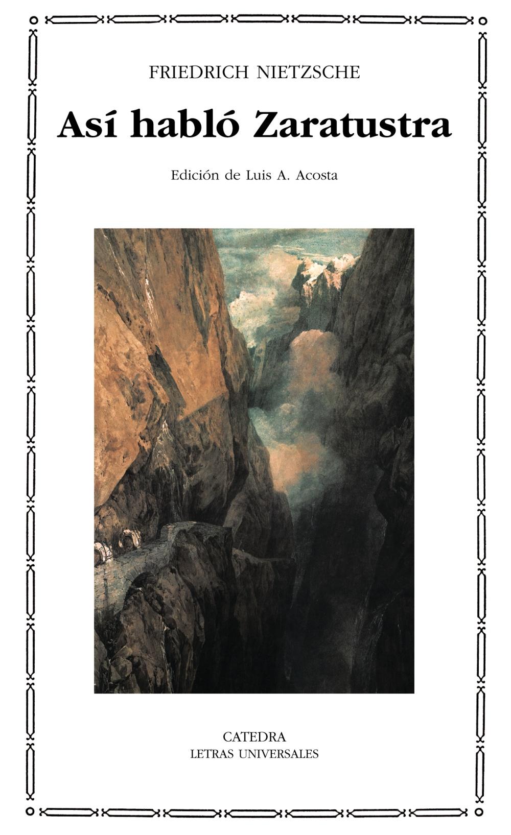 Asi Hablo Zaratustra - Nietzsche Friedrich