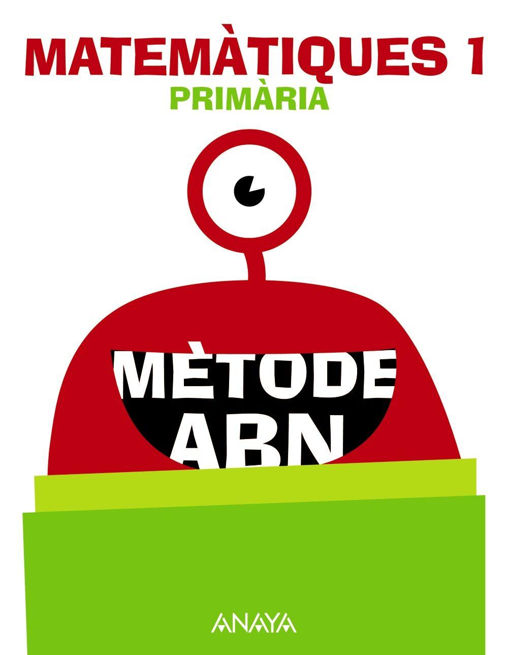 Matemàtiques 1º Educacion Primaria Mètode Abn Valencia Ed 2018 - Vv.aa.