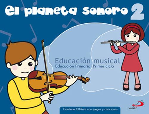 Planeta Sonoro 2 (educacion Primaria) - Vv.aa.