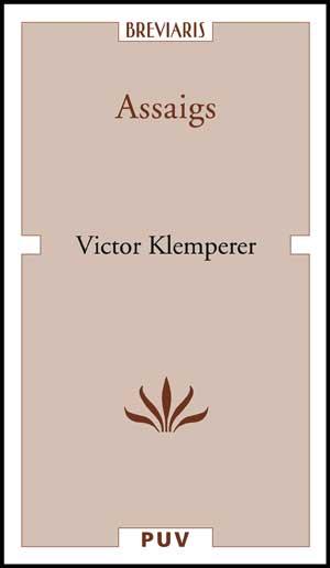 Assaigs - Klemperer Victor