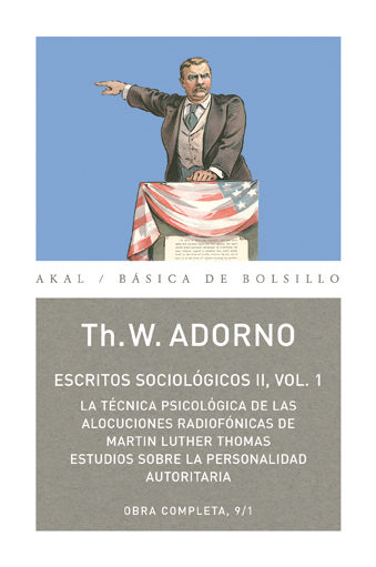 Escritos Sociologicos Ii (vol. 1) (obra Completa 9-1) - Adorno Theodor Wiesengrund
