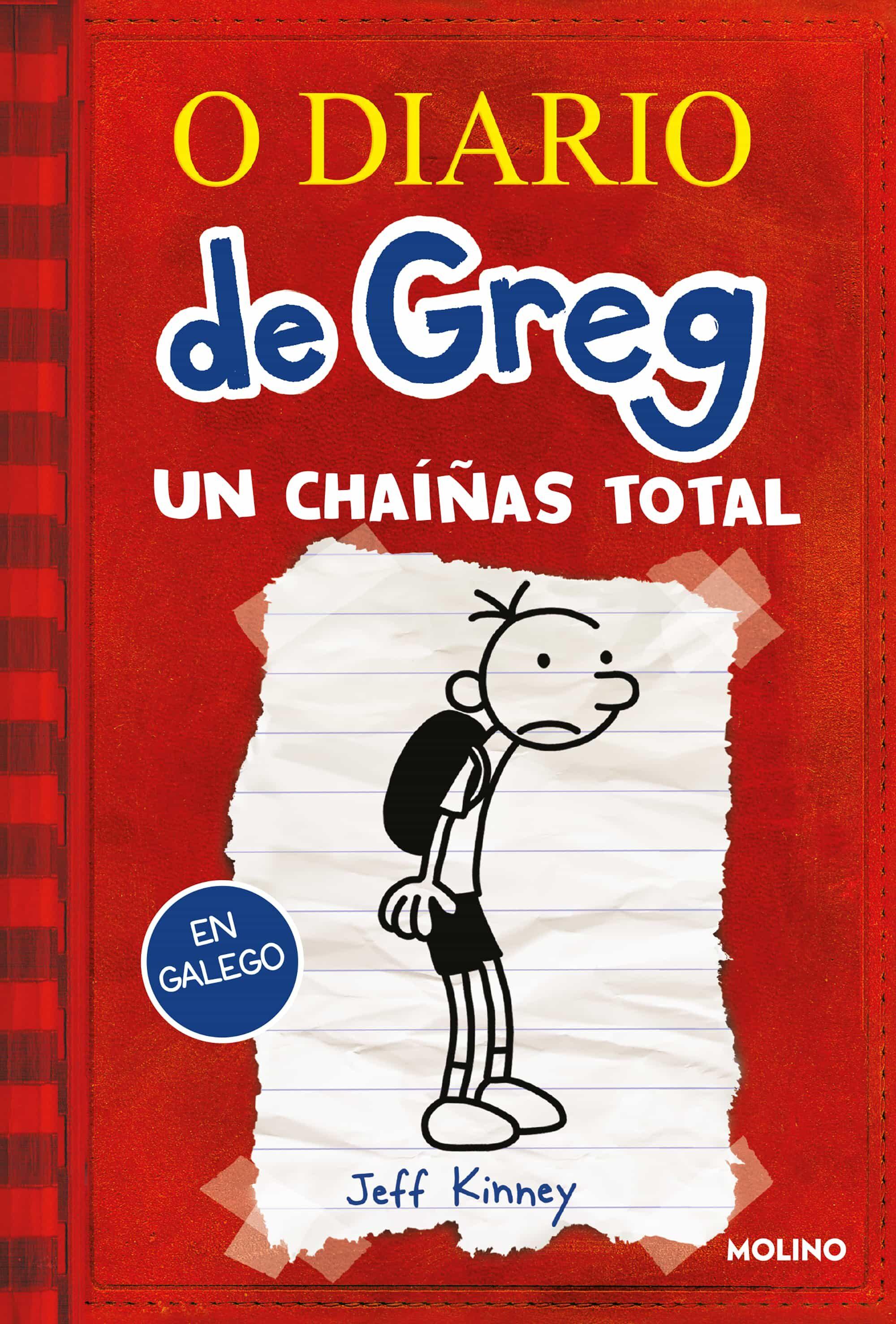 Diario De Greg 1 (gallego): Un Chaíñas Total - Kinney Jeff