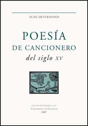 Poesia De Cancionero Del Siglo Xv - Deyermond Alan