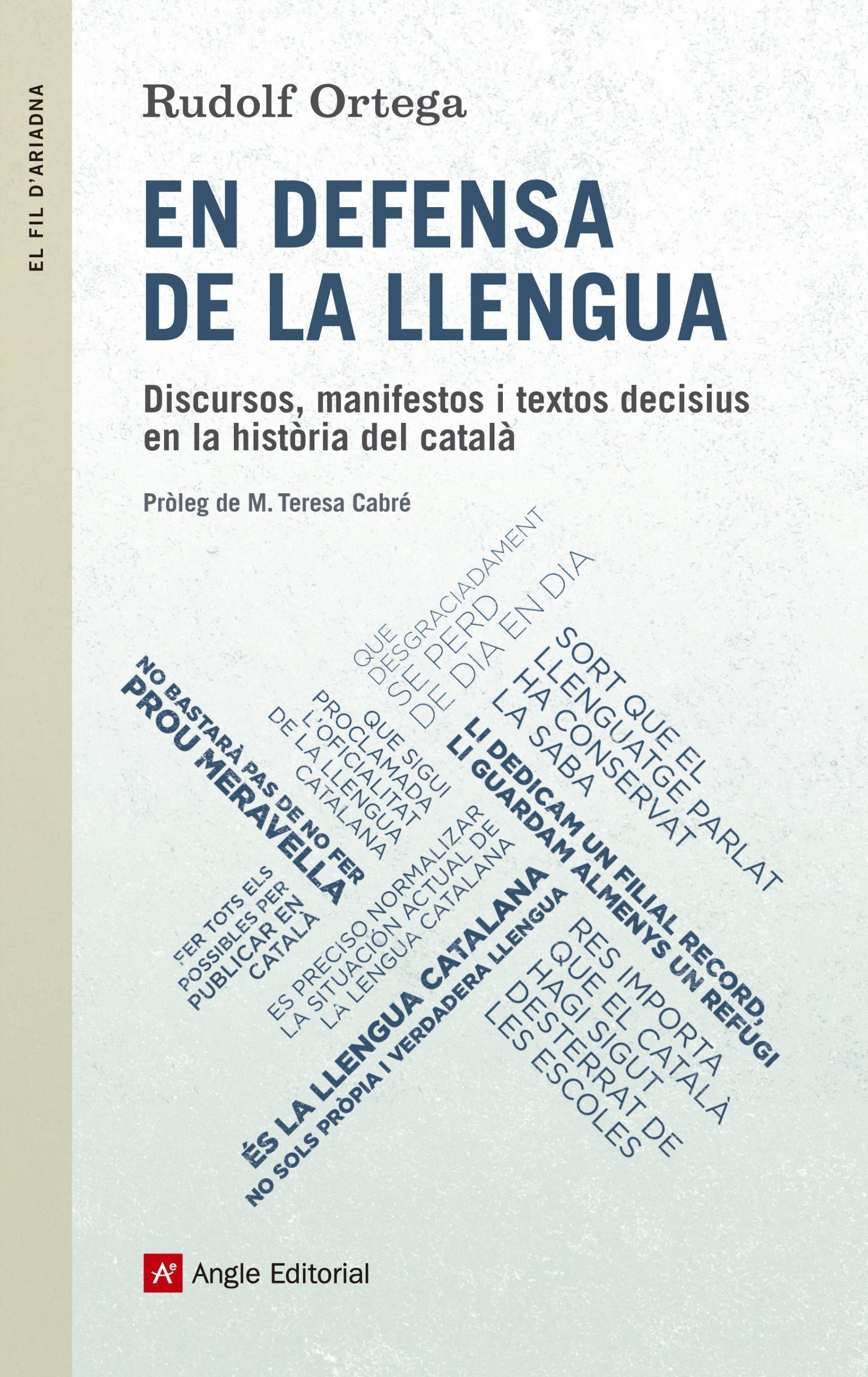 En Defensa De La Llengua - Ortega Robert Rudolf