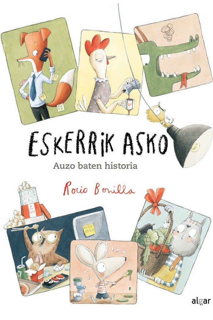 Eskerrik Asko. Auzo Baten Historia - Bonilla Rocio