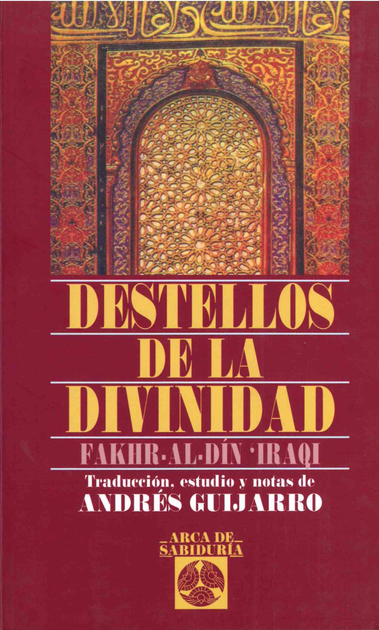 Destellos De La Divinidad - Al Din Iraqui Fakhr