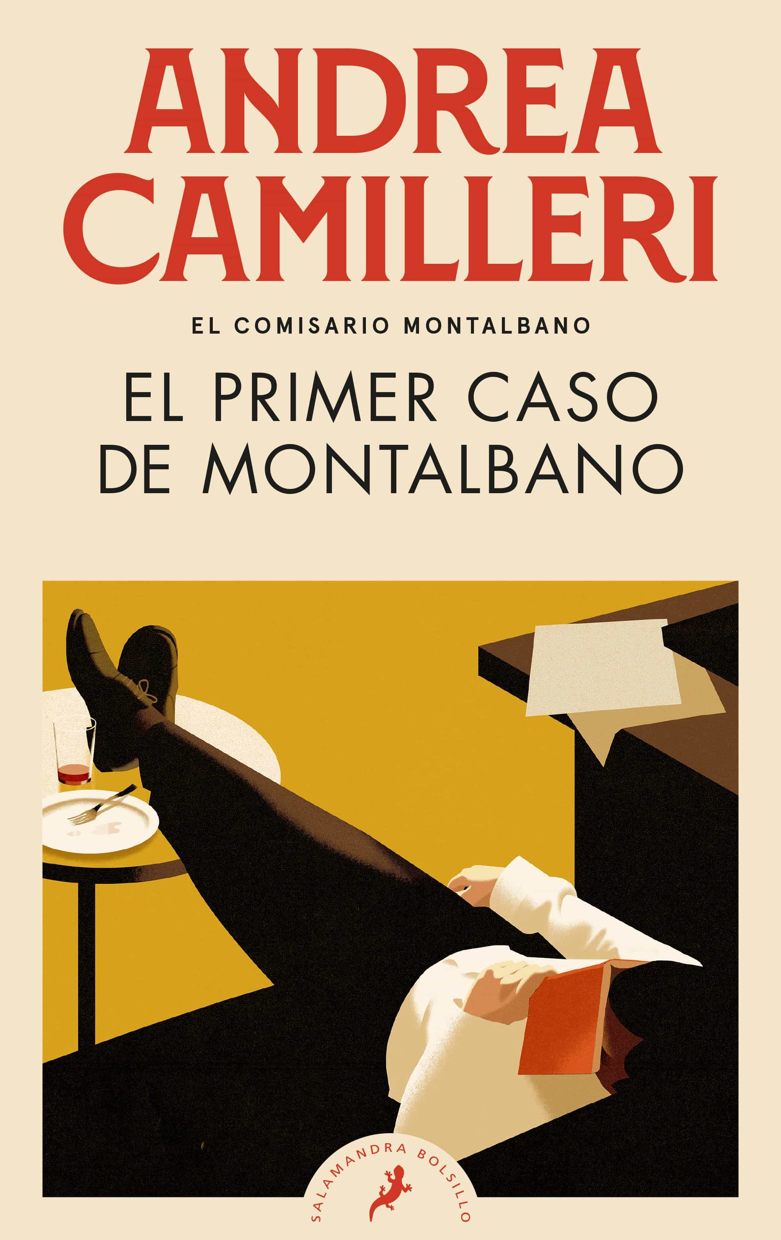 El Primer Caso De Montalbano (comisario Montalbano 11) - Camilleri Andrea