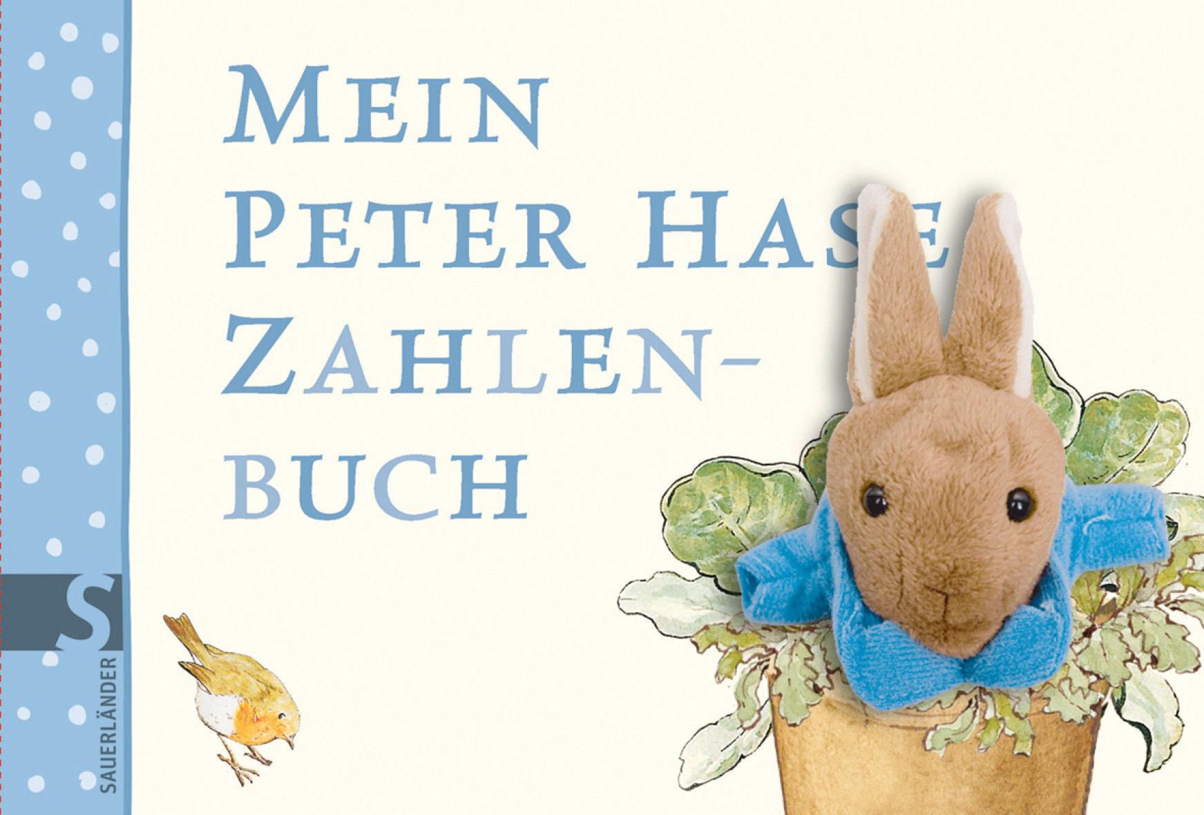Mein Peter Hase Zahlenbuch M. Fingerpuppe - Bilderbuchfigur Nach D.