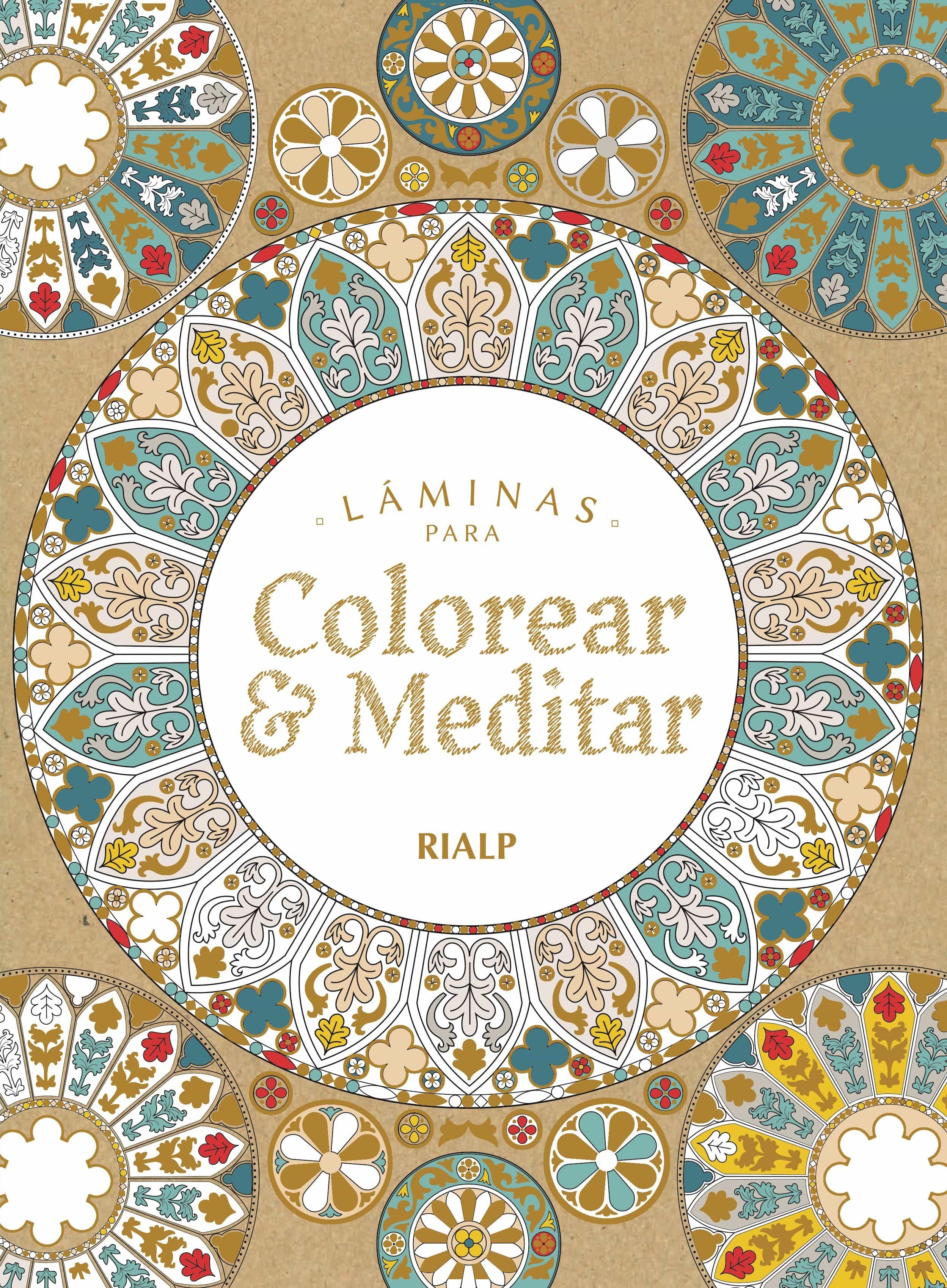 Laminas Para Colorear Y Meditar - Vv.aa.