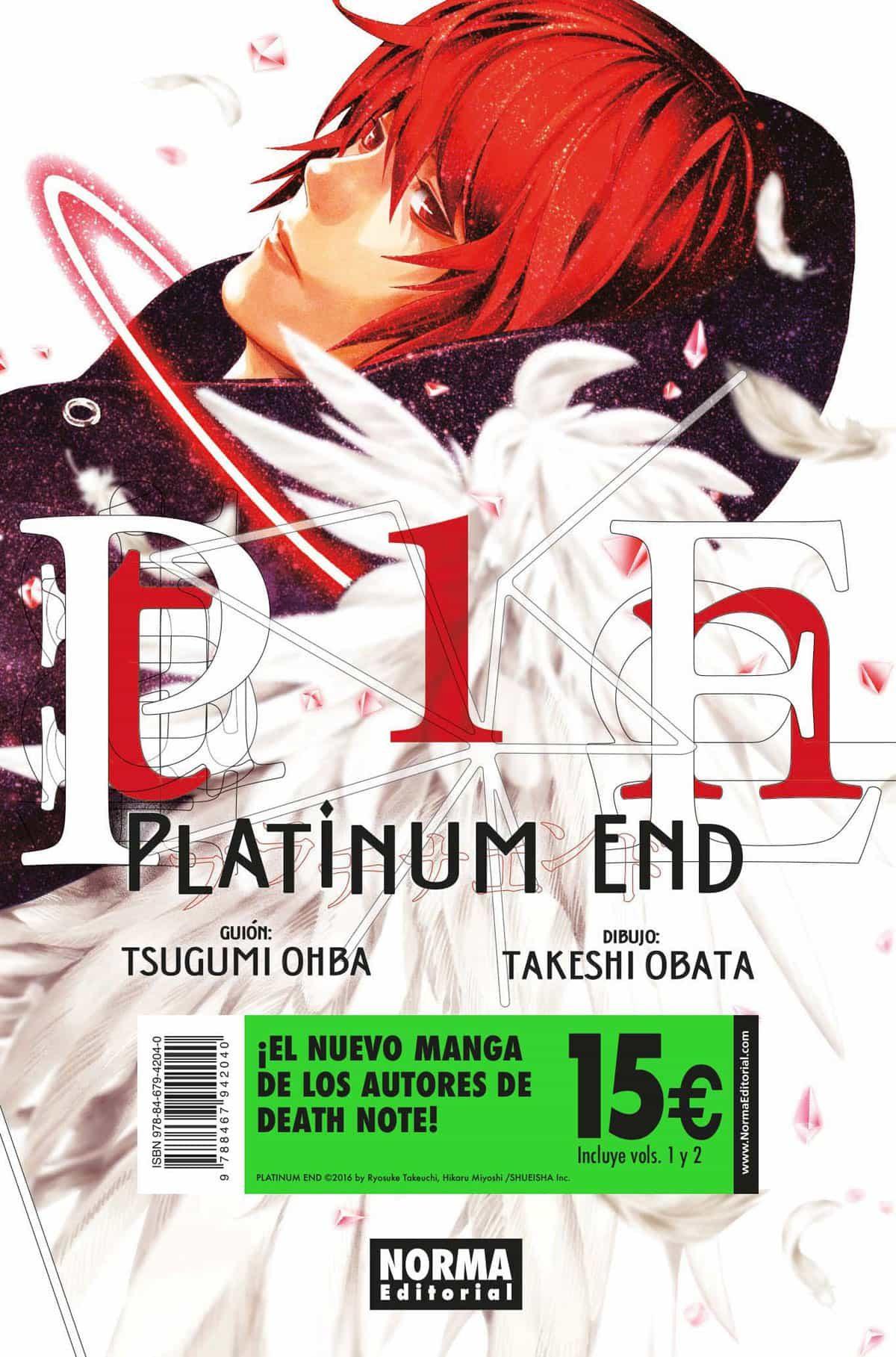 Pack De Iniciación Platinum End (incluye Platinum End 1 Y 2) - Ohba Tsugumi