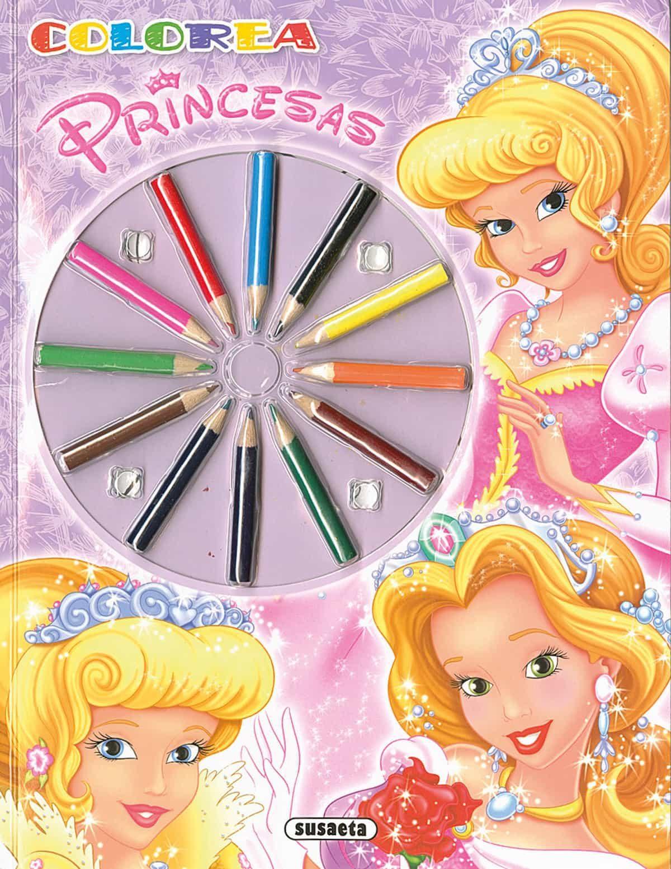 Colorea Princesas 2 - Vv.aa.