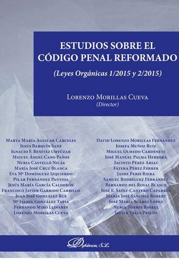 Estudios Sobre El Codigo Penal Reformado - Morillas Cueva Lorenzo