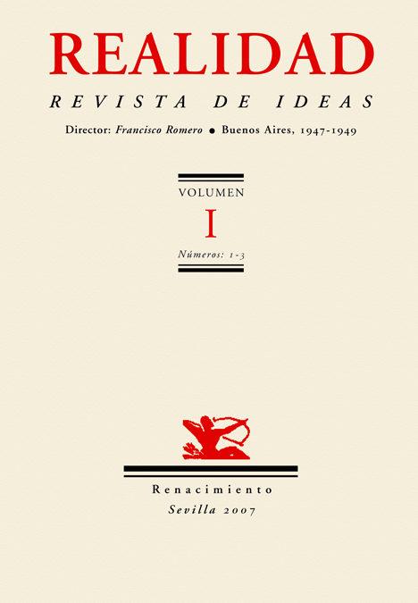 Realidad Revista De Ideas - Vv.aa.