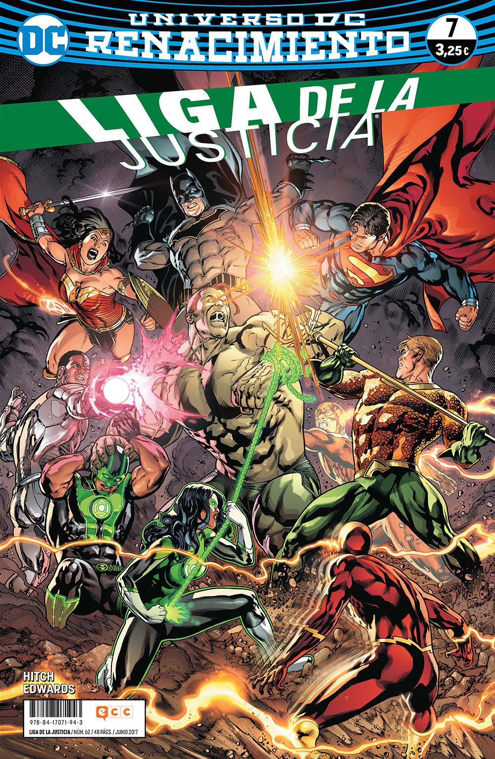 Liga De La Justicia Nº 62/ 7 (renacimiento) - Hitch Bryan